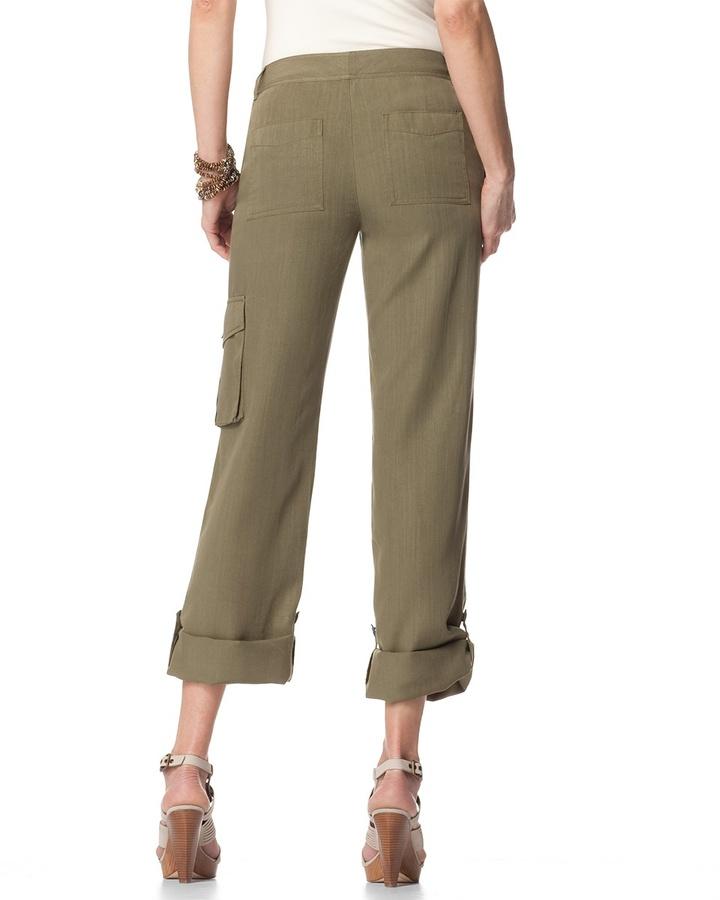 Coldwater Creek Cargo Tencel® pants