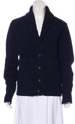 Burberry Wool Button-Up Cardigan