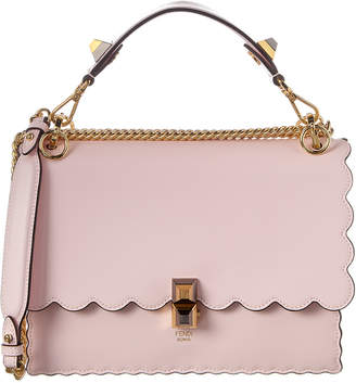 Fendi Kan I Small Leather Shoulder Bag