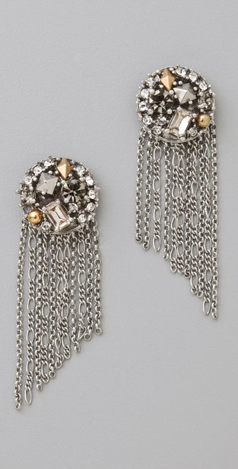 Juicy Couture Button Shower Earrings