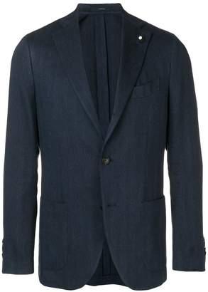 Lardini blue formal jacket