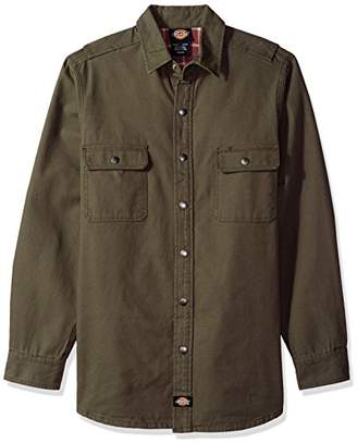 Dickies Men's Flannel Lined Shirt