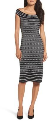 Women's Vince Camuto Midi Sweater Dress $148 thestylecure.com