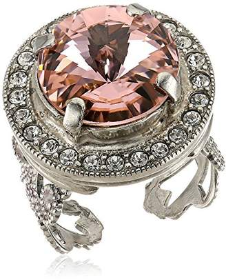 Sorrelli Crystal Rose Bold Bauble Ring