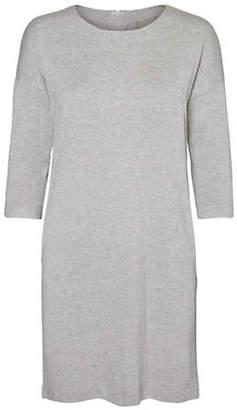 Vero Moda Three-Quarter Roundneck Dress