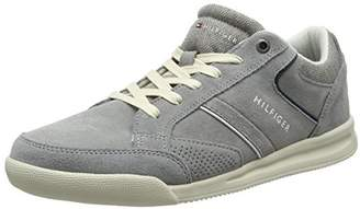 Tommy Hilfiger Men's Corporate Detail Suede Low-Top Sneakers