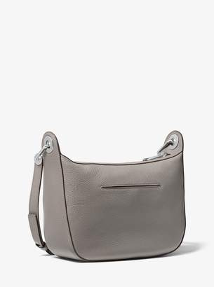 MICHAEL Michael Kors Barlow Medium Pebbled Leather Messenger