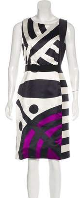 Aquilano Rimondi Aquilano.Rimondi Sleeveless Printed Midi Dress
