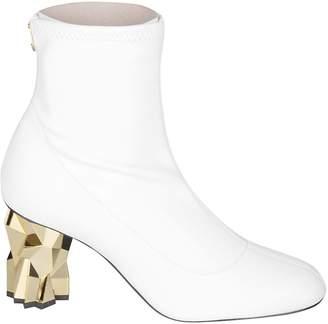 Giuseppe Zanotti Almond Toe Ankle Boots
