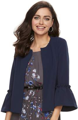 Elle Women's Bell-Sleeve Ponte Jacket