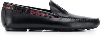 Roberto Cavalli logo loafers