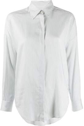 Alberto Biani tailored pinstripe shirt