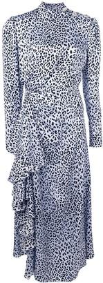 Alessandra Rich leopard print dress