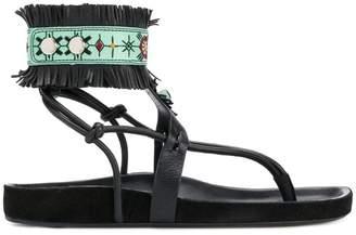 Isabel Marant fringe-trimmed sandals