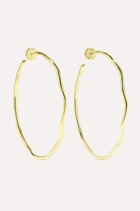 Ippolita Classico Squiggle 18-karat Gold Hoop Earrings
