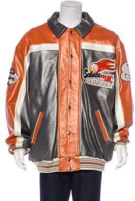 Schott NYC Lower Eastside Leather Bomber Jacket w/ Tags