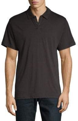 Saks Fifth Avenue Eric Short-Sleeve Polo