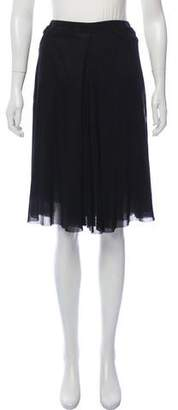 Jean Paul Gaultier Soleil Sheer Mesh Skirt