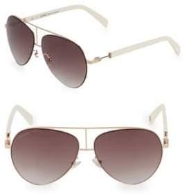 Balmain 59MM Aviator Sunglasses