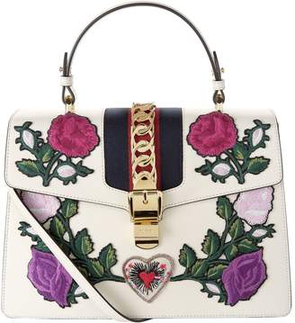 Gucci Large Sylvie Top Handle Bag