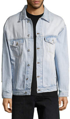 MSGM Striped Denim Trucker Jacket