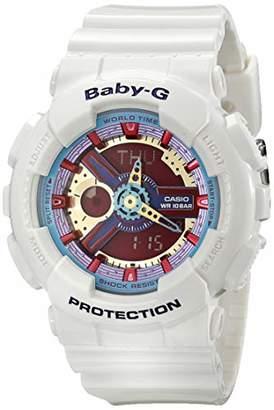 Casio G Shock Women's BA-112-7ACR Baby-G Analog-Digital Display Quartz Watch