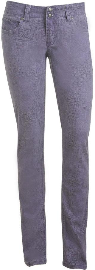 Colored Python Print Skinny Jean