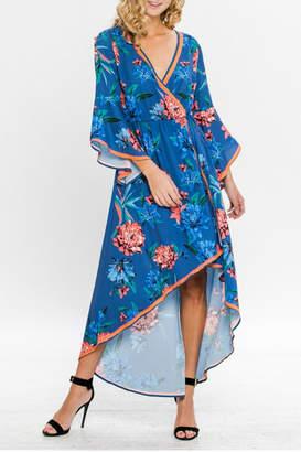 Flying Tomato Wrap Style Dress