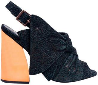 Ivy Kirzhner Beau Suede High Heel Sandal