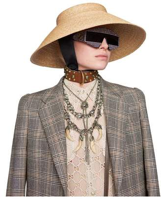 Gucci GG macramé shirt