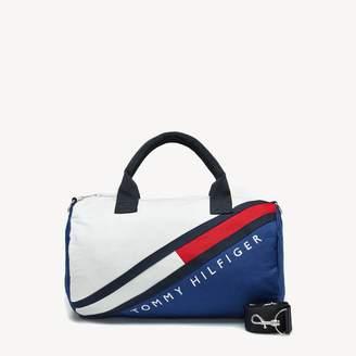 484e0ec7266 Tommy Hilfiger TH Kids Diagonal Colorblock Duffle Bag