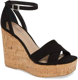 Charles by Charles David Dempsey Platform Wedge Sandal