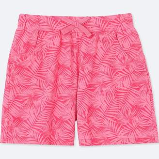 Uniqlo Girl's Jersey Easy Shorts