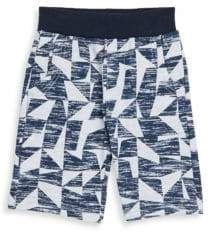 Petit Lem Little Boy's Abstract-Print Shorts
