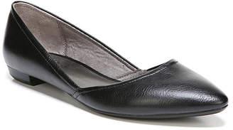 LifeStride Womens Zaela Ballet Flats Slip-on Pointed Toe