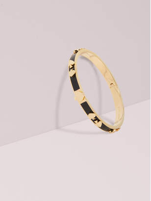 Kate Spade heritage spade enamel multi bangle