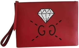 Gucci Guccy Clutch Leather Clutch Bag