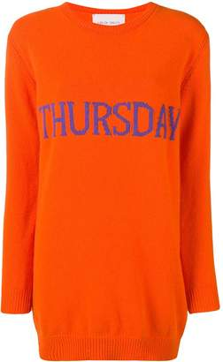 Alberta Ferretti Thursday sweater dress