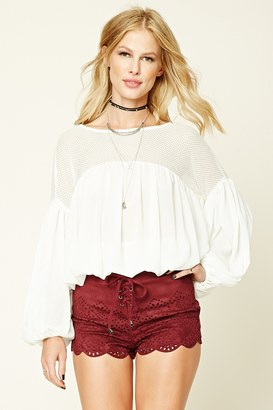 FOREVER 21+ Faux Suede Lace-Up Shorts $17.90 thestylecure.com