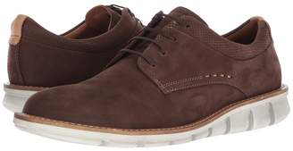 Ecco Jeremy Plain Toe Men's Lace Up Wing Tip Shoes