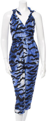 Alice by Temperley Striped Sleeveless Jumpsuit $95 thestylecure.com