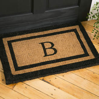 Birch Lane Classic Monogrammed Welcome Doormat