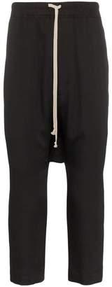 drop-crotch track trousers