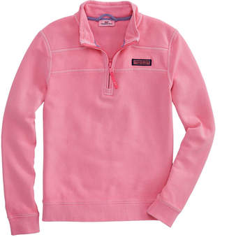 Vineyard Vines Girls Garment Pigment-Dyed Classic Shep Shirt