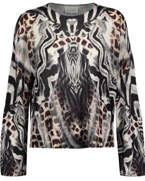 Camilla Printed Knitted Sweater