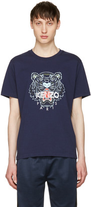 Kenzo Navy Tiger T-Shirt $120 thestylecure.com