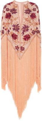 J. Mendel Embroidered Cape