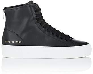 Common Projects Women's Tournament Leather Sneakers