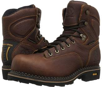 Georgia Boot Logger 6 Low Heel Comp Toe Waterproof Men's Work Boots