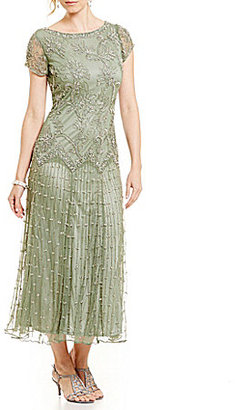 Pisarro Nights Beaded Drop Waist Gown $248 thestylecure.com